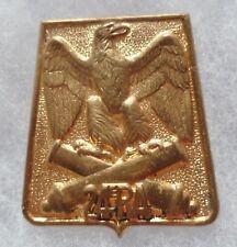 Insigne 24° RA REGIMENT d' ARTILLERIE Sabretache Aigle Empire ORIGINAL H626