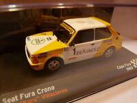voiture 1/43 IXO altaya SEAT de Rallye : FURA Crono 1983 KURU