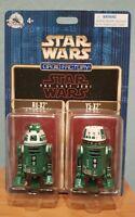Disney Parks Star Wars R2 units astromech Droid Factory units R4-X2 & Y5-X2
