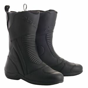 Alpinestars Patron Gore-Tex WP Leather CE Approved Boots - Black UK 9.5 / Eur 44