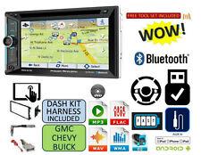 FITS CHEVY-GMC TRUCK-VAN-SUV Cd Dvd AUX Bluetooth Radio Stereo GPS NAVIGATION