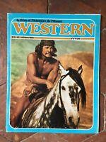 revue WESTERN N°1 film et histoire de l'Ouest mensuel Octobre 1972