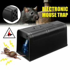 Mouse Trap Control Rat Electronic Killer Pest Mice Electric Rodent Zapper Catch