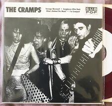 "The Cramps- Teenage Werewolf Colored vinyl 7"" (Gun Club, Electric Eels,punk,KBD)"