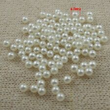 3mm White Nonporous Pearls Decoration Purpose DIY Jewelry Findings 2000pc