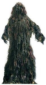 Kids Ghillie Suit Youth Sizes Lightweight All Purpose Camo Rothco 64128