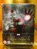 STEELBOOK Iron Man 2 [ Edition Zavvi Limitée 4000 Ex ] Lenticulaire