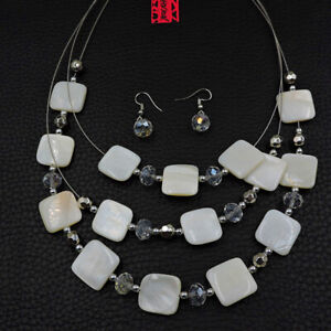 Betsey Johnson Fashion Jewelry Clear White Gemstone Woman's Choker Necklace