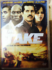 John Leguizamo Rosie Perez THE TAKE ~ 2007 Crime Thriller UK DVD