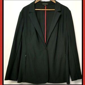 Banana Republic Womens Casual Coat Blazer Suit Top Plus Size 20 Black