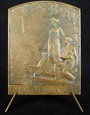 Médaille Zurich Insurance Group Allégorie de l'assurance Legastelois 1903 medal
