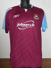 West Ham United Home Rebook Shirt (2006/2007) medium men's #646