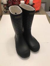Keen Womens Size 6 Rubber Boots Rainboots Black