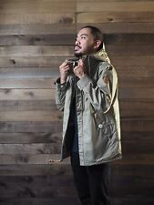 Penfield Gibson Hooded Jacket, Khaki Color, Size XS
