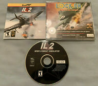 IL-2 Sturmovik WWII Combat Simulator - PC Computer CD Flight Video Game in Case!
