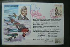 RAF Ha (SP4) Cover ANTHONY FOKKER signé A.P. Moll (Pilote d'essai)