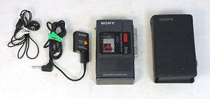Vintage Sony M-88V Microcassette Tape Recorder for Repair
