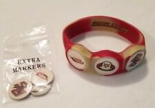 Wrist Skins Golf Ball Marker Bracelet,Boston College,Magnetic,Size Small