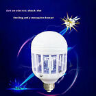 15W 110/220V LED Anti-Mosquito Bulb Light Electronic Insect Fly Lure Killer Bulb