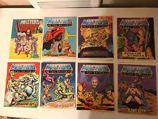 He-Man Masters Of The Universe Vintage MOTU Spikor Strikes Mini Comics Lot Of 8!