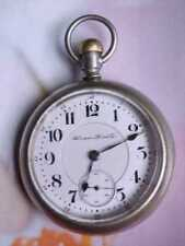 1903 VINTAGE HAMPDEN 23 JEWEL ADJUSTED RAILWAY SPECIAL 18S FAHY'S POCKET WATCH