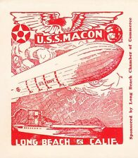 Airship Zeppelin USS Macon USS Lexington Sighting Ship CDS ONLY 663 Made Cover Á