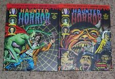 Lot of 2 Haunted Horror Chilling Archives Of Horror Comics #24 & 25  HC