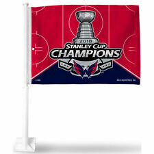 Washington Capitals 2018 NHL Stanley Cup Champions Car Auto Window Flag