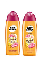 2x Right Guard Women SENSUAL&OIL Shower Cream Monoi Blossom with ArganOil