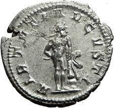 "GORDIAN III 241AD Rome Ancient Silver Roman  Coin ""Farnese"" Hercules i59075"