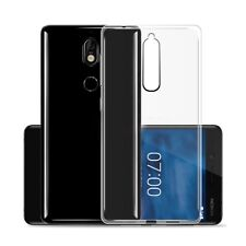 Slim Soft Clear Transparent Gel Case Cover For Nokia 6.1 6 2018 7 Plus 8 Sirocco