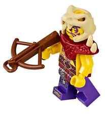LEGO Ninjago Enter the Serpent 70749 Zugu Minifigure  CrossBow Mini Fig New