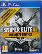 Sniper Elite III. Ultimate Edition. Ps4. Fisico. Pal España