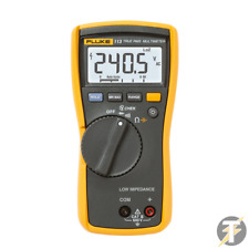 Fluke 113 True-RMS Digital Utility Multimeter Genuine UK Product with leads