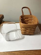 Longaberger Chives Booking Basket 2000 45217 Protector