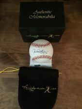 Rollie Fingers Signed Major League Baseball With Reggie Jackson.Com Bag and Seal