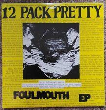 "12 Pack Pretty Foulmouth 7"" Orange Vinyl EP &  Insert US Punk Dr Strange Records"