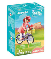 70124 Playmobil Spirit Maricela with Bicycle Spirit Riding Free Suitable for age