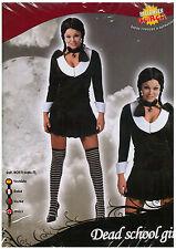 ABITO VESTITO COSTUME DI CARNEVALE HALLOWEEN DEAD SCHOOL GIRL / ADULTO TG.38-40