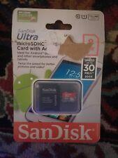 SanDisk Ultra 8 GB microSDHC UHS-I Card - OEM - (SDSDQUA-008G-A11A)