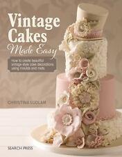 VINTAGE CAKE DECORATIONS MADE EASY - LUDLAM, CHRISTINA - NEW PAPERBACK BOOK