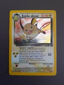 Carte Pokemon Raichu Obscur 83/82 🇨🇵