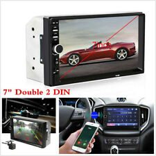 "2DIN 7"" HD Car Stereo Radio MP5 Player Bluetooth Touch Screen With Rear Camera"