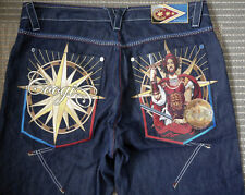 Coogi Jeans Embroidered Mens Size 40 X 35 Baggy OG Hip Hop Rap Wear