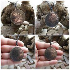 Talismano Amuleto Sigillo di Salomone a doppia faccia 2°e 4° pentacolo di Venere