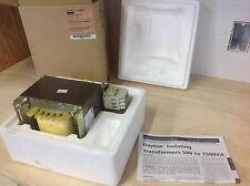 Dayton 4MTV5  Isolating Transformer, Rated 1000VA, Pri. 120V, Sec. 12-24V. NIB
