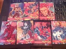 Marvel Overpower Original Mission Maximum Carnage Set of 7 NrMint-Mint Cards