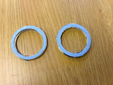 YAMAHA RD 200 RS 200 Twin Exhaust Gasket Set of 2 New Fibre Gaskets