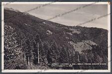 TRENTO LEVICO TERME 32 VETRIOLO BAGNI Cartolina FOTOGRAFICA viaggiata 1951