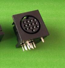 DIN 13 Pin Audio Camera video presa ATARI Roland Midi PCB x 1 PC o offerta'S